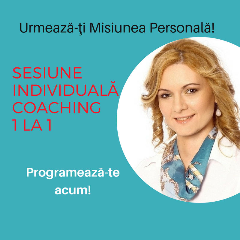 Sesiune individuală Coaching
