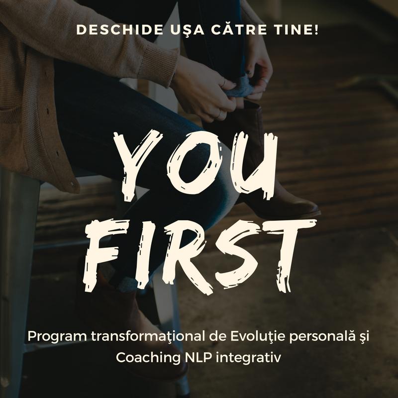 Program transformaţional de evoluţie personală şi coaching NLP integrativ