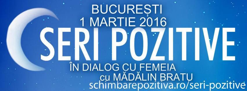 """""""În dialog cu FEMEIA"""" – Invitat: Mădălin Bratu"""